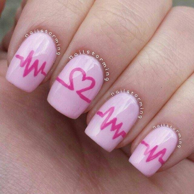 Valentine's Day Nail Art 2016 3
