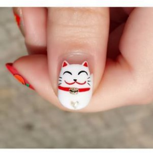 10 Ideas for Chinese New Year Nail Art 2016 - 10