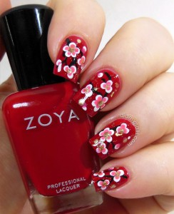 10 Ideas for Chinese New Year Nail Art 2016 - 9