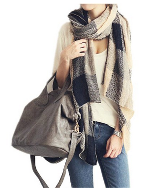 Aircee (TM) Unisex Autumn Winter Soft Wrap Shawl Blanket Assorted Colors Pashmina Scarf
