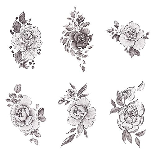 Floral Temporary Tattoos 2
