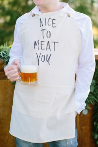 Nice To Meat You Apron