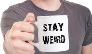 Stay Weird Coffee Mug Cup