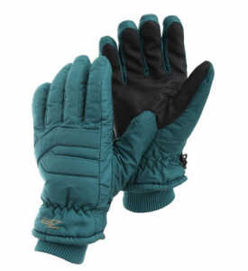 Waterproof Thinsulate Thermal Ski Gloves With Hand Grip
