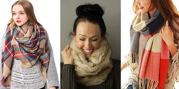 Women's Scarves for Winter 2015