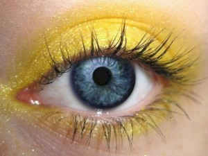 Lucky Makeup Ideas for the Chinese New Year 2016 - Yellow 1
