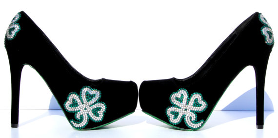 15 St. Patrick's Day High Heels 2016 1