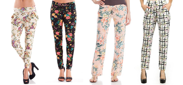 10 Floral Pants for Spring 2016