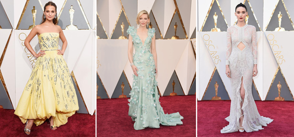 15 Lovely Dresses and Gowns at the Oscars 2016 Red Carpet