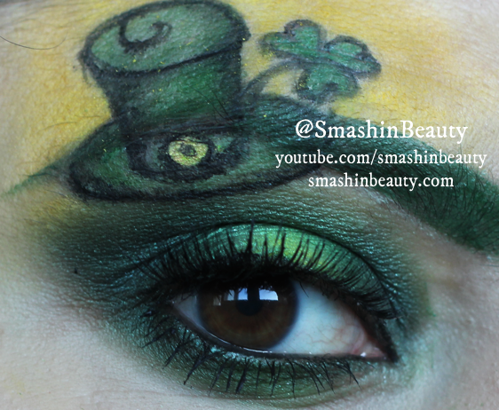 18 St. Patrick's Day Makeup Ideas for 2016 18