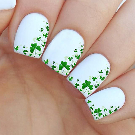 St. Patrick\'s Day Nail Art Ideas 2016 | Girlshue