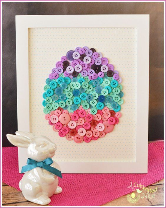 20 Easter Eggs Craft Ideas 2016 - 14