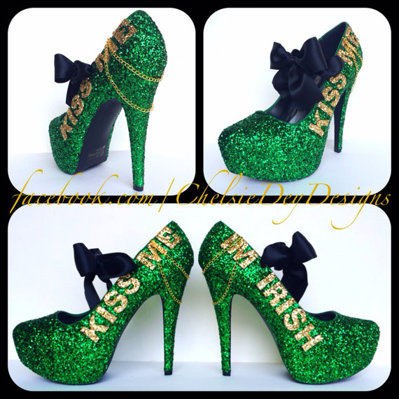 15 St. Patrick's Day High Heels 2016 3