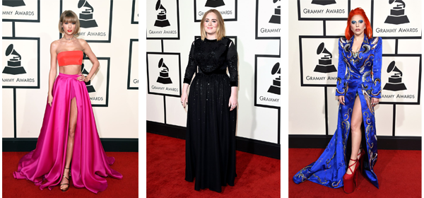 7 Red Carpet Dresses From The 2016 Grammy Awards