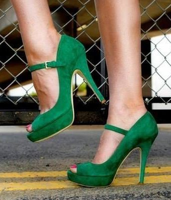 15 St. Patrick's Day High Heels 2016 7