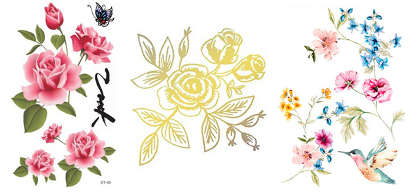 Floral Tattoo Ideas for Spring 2016