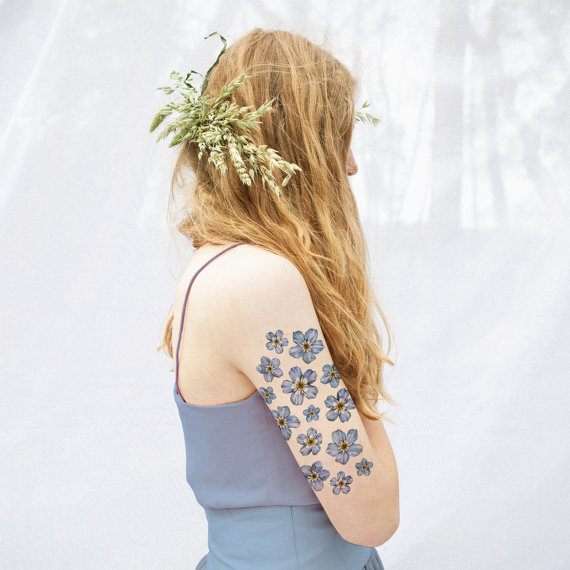 20 Floral Tattoo Ideas for Spring 2016 11