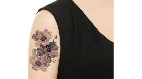 20 Floral Tattoo Ideas for Spring 2016 3