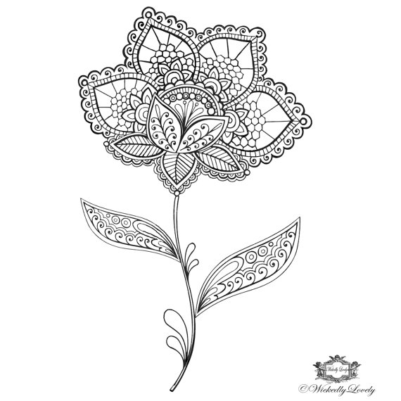 20 Floral Tattoo Ideas for Spring 2016 7