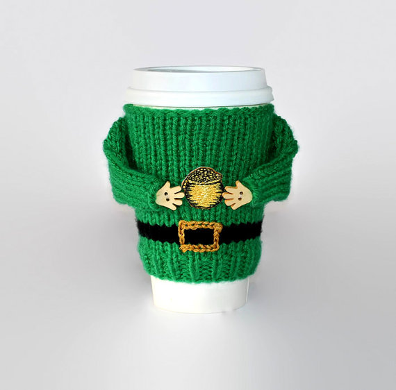Irish mug sweater
