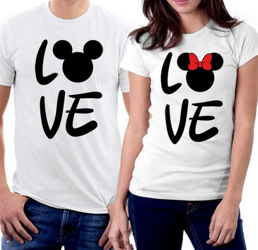 mickey and minnie couple shirts - Valentine Day Shirts