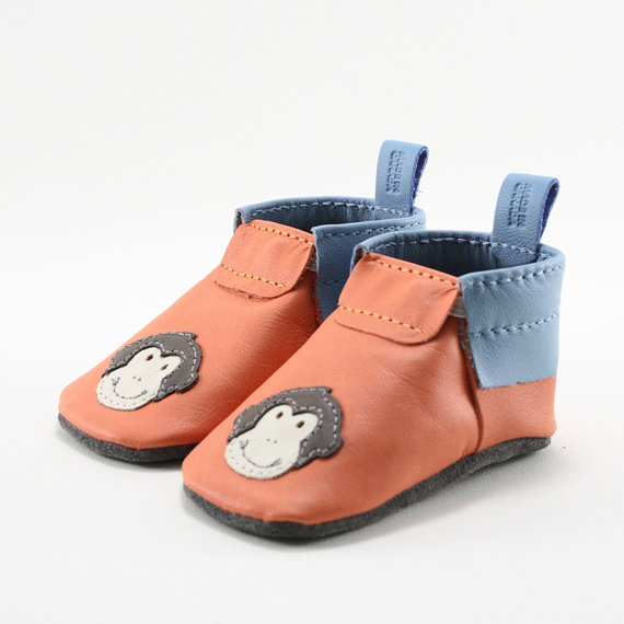 Monkey Leather Shoes
