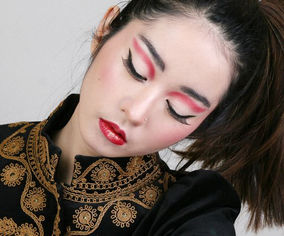 Simple Chinese New Year look