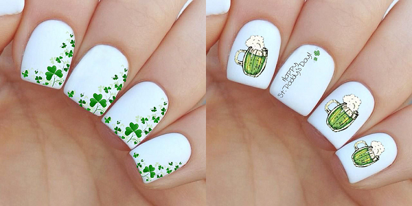 St Patricks Day Nail Art Ideas 2016 Girlshue