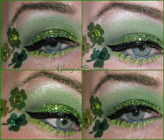 18 St. Patrick's Day Makeup Ideas for 2016 12