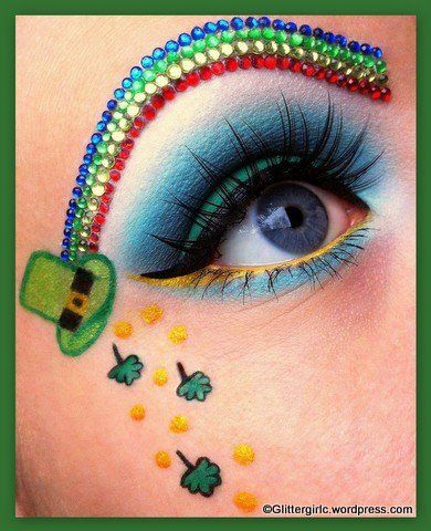 18 St. Patrick's Day Makeup Ideas for 2016 3