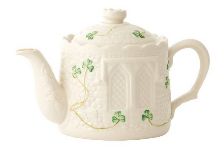 castle shaped teapot