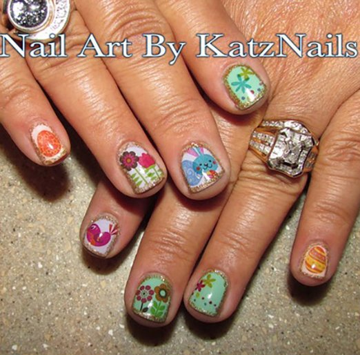 Easter Nail Art Ideas 2016 2