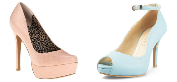 20+ Lovely Pastel Heels for 2016