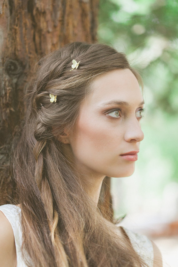 Wedding Butterfly Hairpins 2016 1