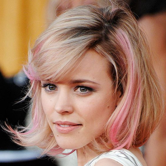 Celebrities With Pink Hairstyles – Hairstyle Ideas To Try This Spring 2016 15