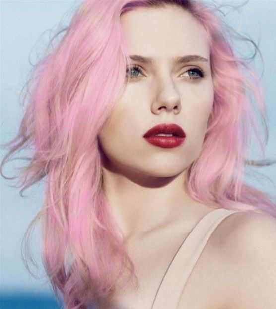 Celebrities With Pink Hairstyles – Hairstyle Ideas To Try This Spring 2016 3