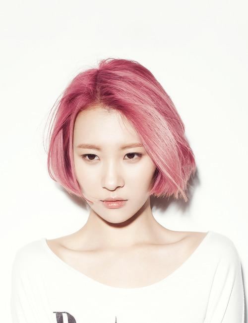 Celebrities With Pink Hairstyles – Hairstyle Ideas To Try This Spring 2016 5