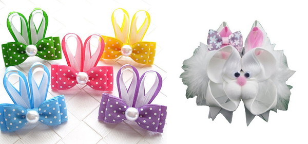 Easter Day Hair Clips For Kids and Girls 2016