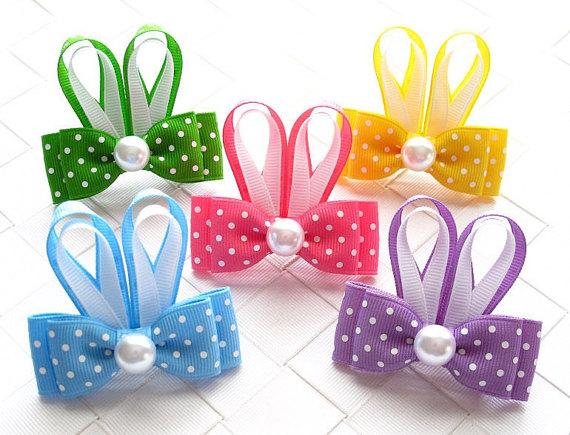 Easter Day Hair Clips For Kids and Girls 2016 3