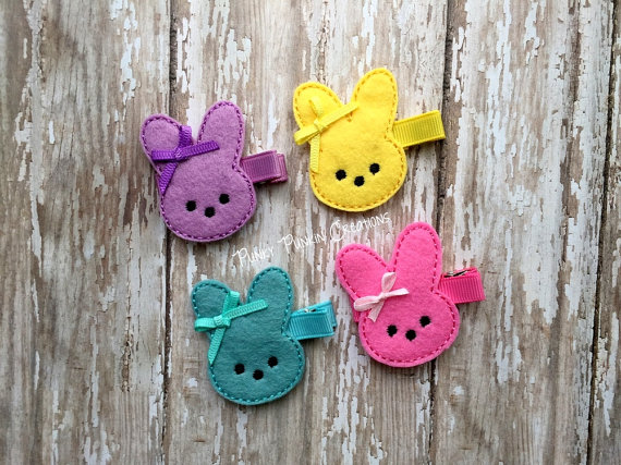 Easter Day Hair Clips For Kids and Girls 2016 4