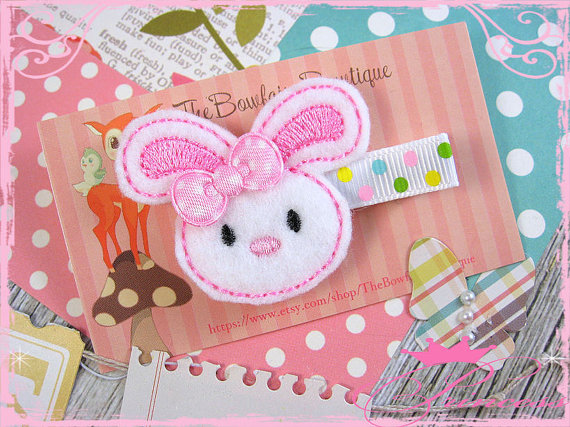 Easter Day Hair Clips For Kids and Girls 2016 5