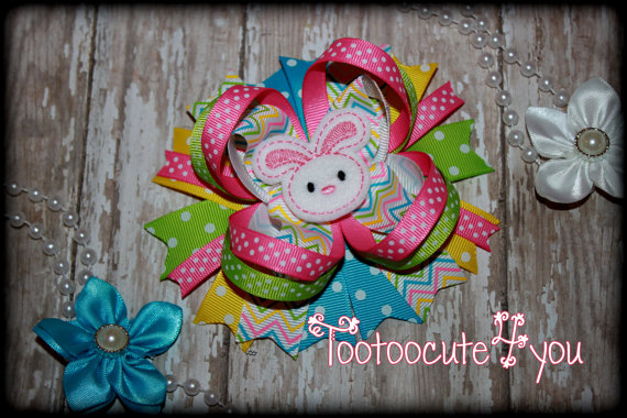 Easter Day Hair Clips For Kids and Girls 2016 9