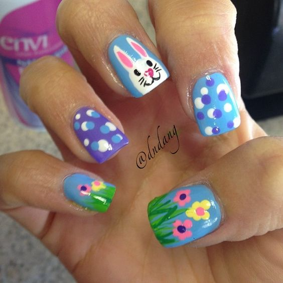 Easter Nail Art Ideas 2016 11
