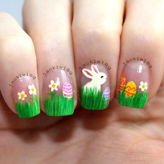 Easter Nail Art Ideas 2016 14