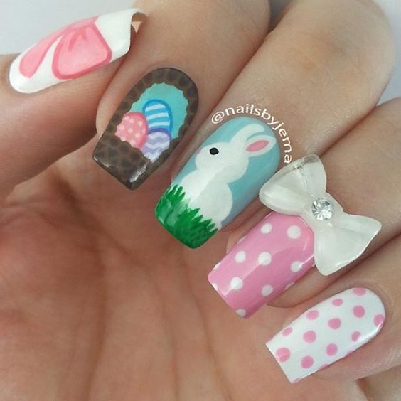 Easter Nail Art Ideas 2016 7