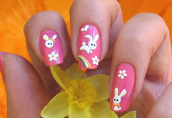 Easter Nail Art Ideas 2016 9