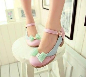 20+ Lovely Pastel Heels for 2016 12