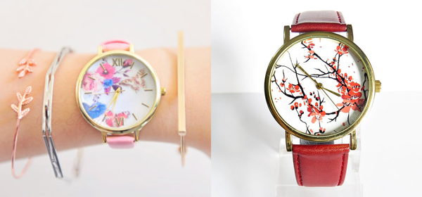 Spring Floral Watches 2016