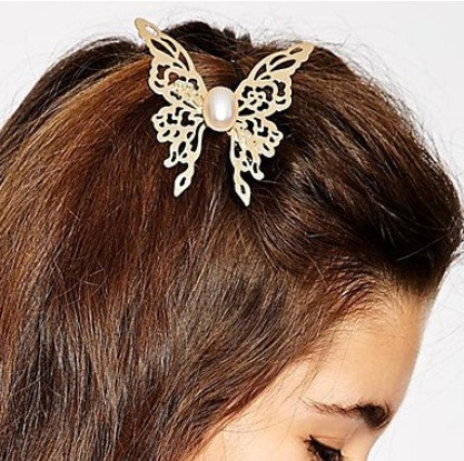 Wedding Butterfly Hairpins 2016 14