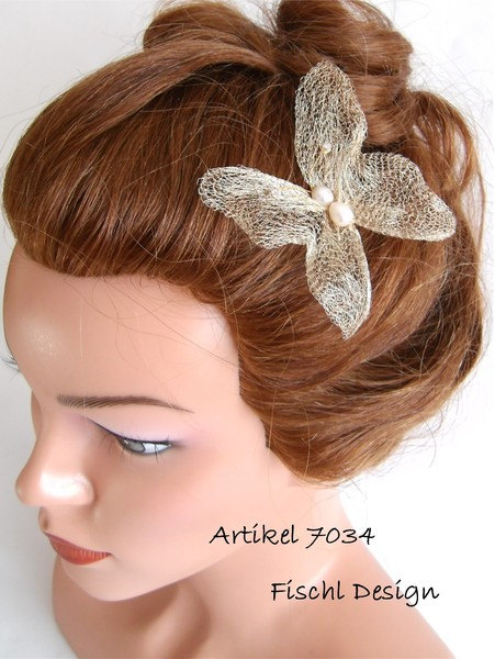 Wedding Butterfly Hairpins 2016 8